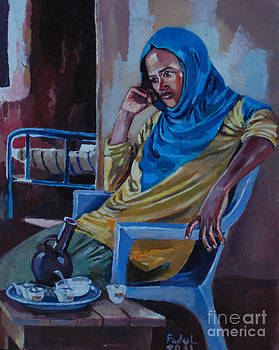 Coffee with hopes by Mohamed Fadul