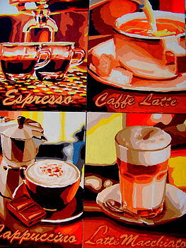 Coffee's Of Choice by Amy Bradley