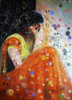 Collecting her thoughts. by Nalini  Bhat