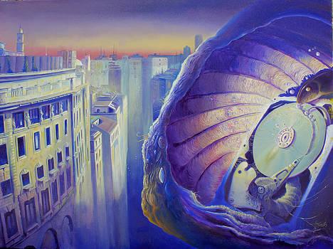 Colliquazione nel mare del vuoto by Alessandro Fantini