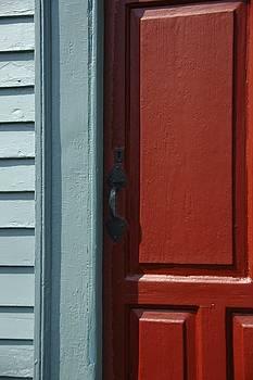 Colonial Door by Ryan Louis Maccione