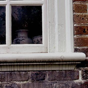 Colonial Window Scene by Larry Small