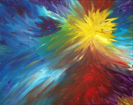 Color Explosion by Lisa Stanley