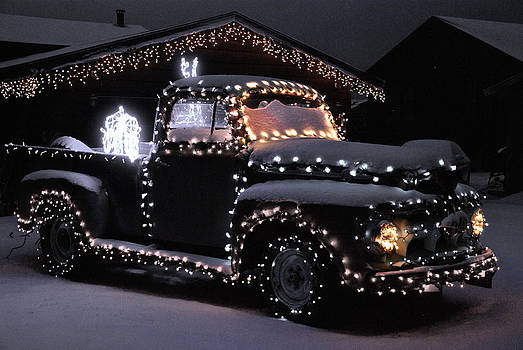 Colorado Christmas Truck by Bob Berwyn