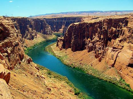 Colorado River in Glen Canyon by Mark Cheney