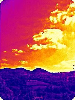 Colored sky by Elena V