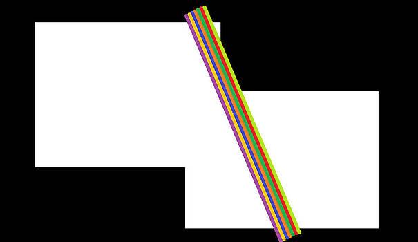Colored Sticks by Cherryl Fernandez