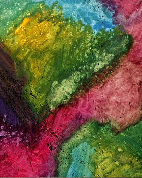 Karyn Robinson - Colorful Abstract Art - Splash Zone