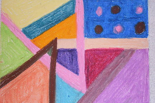 Colorful Angles by Genoa Chanel