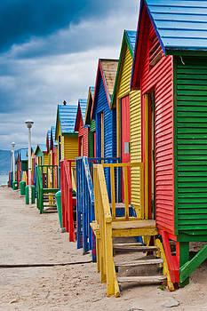 Colorful Beach Houses at St James by Cliff C Morris Jr