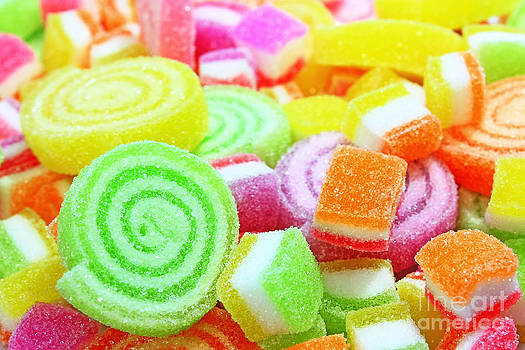 Colorful candy  by Pongsak Deethongngam