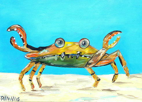 Colorful Crab by Hogan Willis