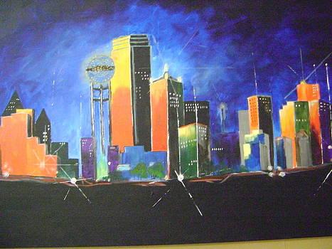 Colorful Dallas by Barbara Sudik
