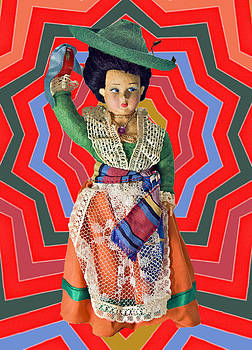 Colorful Doll by Susan Leggett