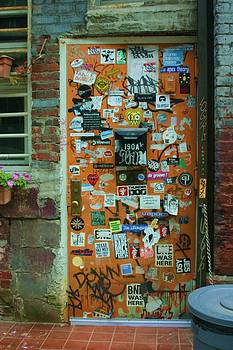 Colorful Doorway by Dennis Curry