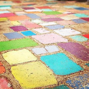#colorful #funky #spanishvillageart by Lauren Laddusaw
