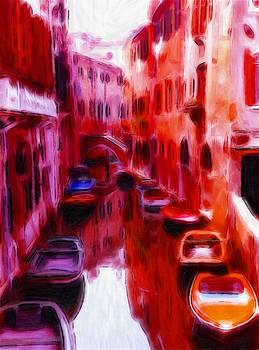 Steve K - Colorful Venice Oil Pastels
