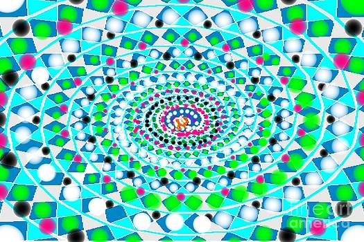 Colorful Vortex RAW by Catherine Herbert