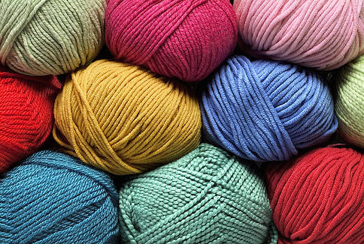 Colorful Yarn by Phil Degginger