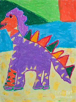 Colorfull Dinosaur by Jantima  Cha