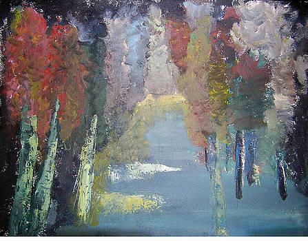 Colourful Forest by Sindhu Seshagiri