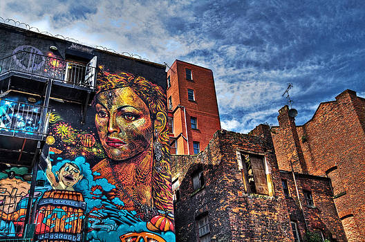 Colourful Manchester by Sandra Pledger