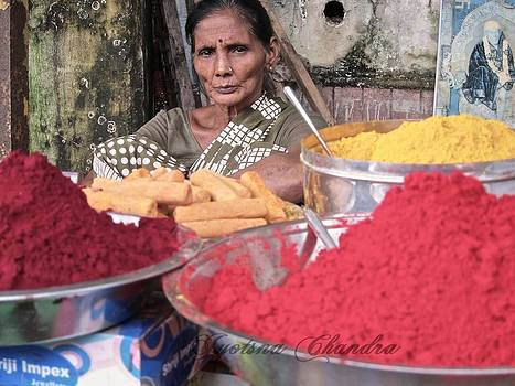 Colours of her life India by Jyotsna Chandra