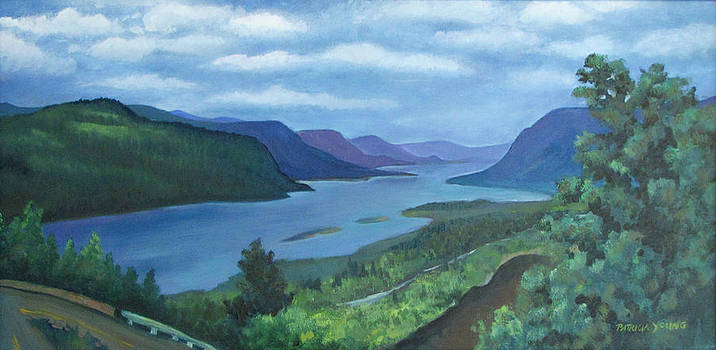 Columbia River Gorge  by Patricia Young