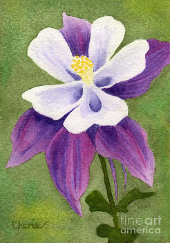 Columbine On The Green by Vikki Wicks