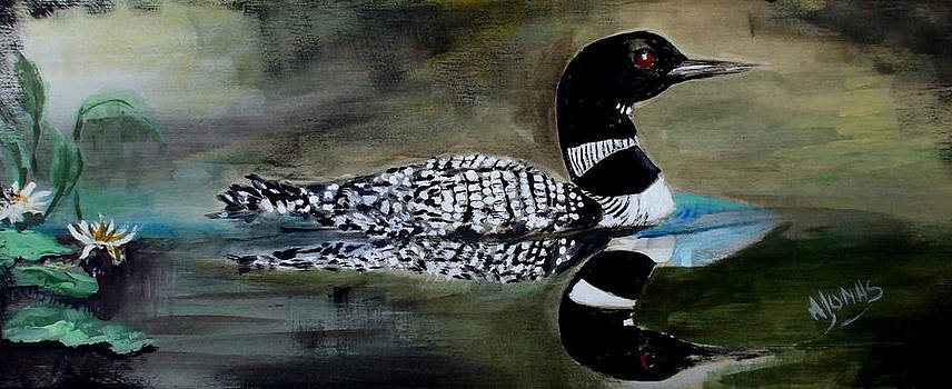 Amalia Jonas - Common Loon