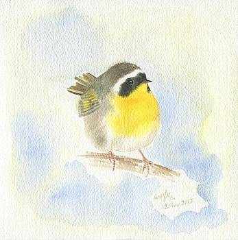 Common yellowthroat by Wenfei Tong