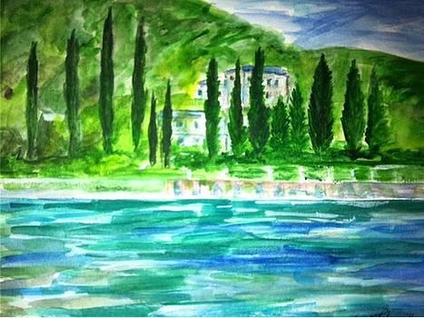 Como Veduta   by Angela Puglisi