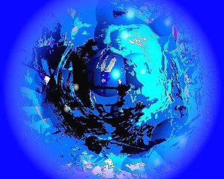 Conciencia cosmica blue by Sara  Diciero