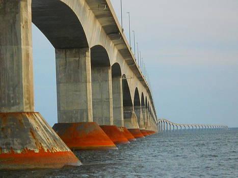Confederation Bridge by Jeff Moose