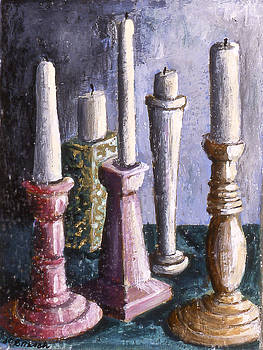 Conference of Candles by Susan  Brasch
