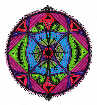 Connection Mandala by Robens Napolitan Tom Kramer