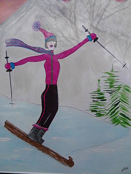 Nancy Fillip - Conquering the Slopes