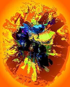 Conquistando a la razon yellow by Sara  Diciero