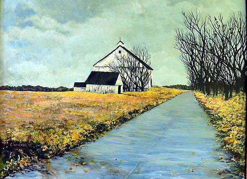 Conrad's Farmhouse by Carol Ann Wagner