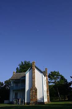 Nina Fosdick - Conser House with Moon