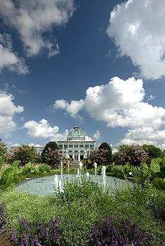 Conservatory At Lewis Ginter by Floyd Menezes