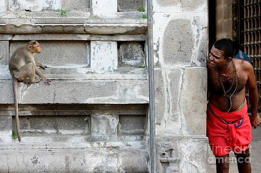 Contagious smile by Vishakha Bhagat