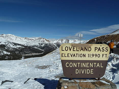 Continental Divide Loveland Pass by Bill Kennedy