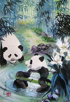 Cool Bathing by Lian Zhen