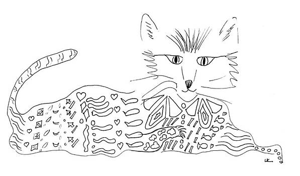 Cool Cat by Lori Kirstein