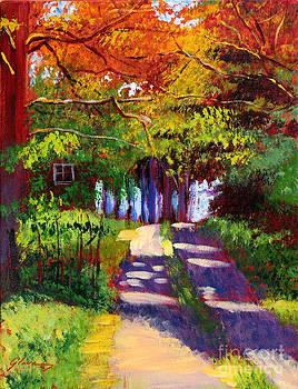 David Lloyd Glover - Cool Country Land plein air