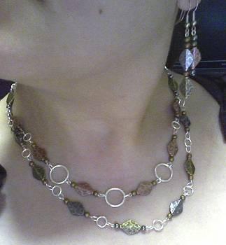 Copper Silver Gold by Brianna Lynn