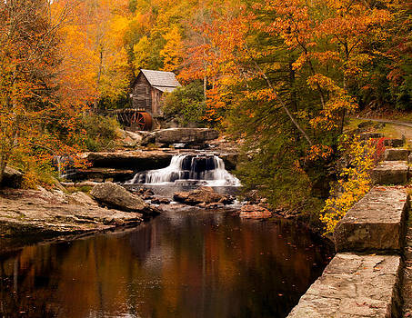 Randall Branham - Coppertone look Glade Creek Grist Mill