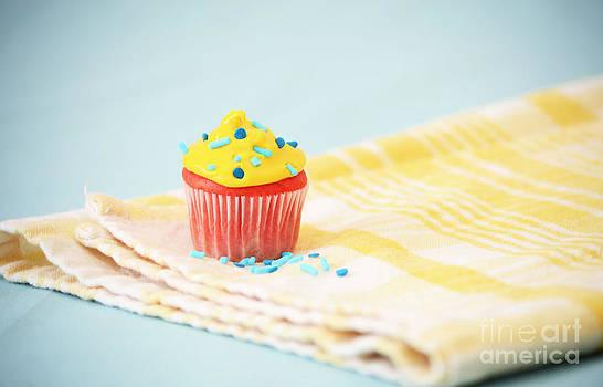 Coral Cupcake by Anna Crowder