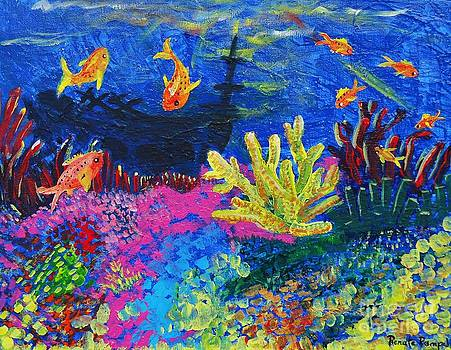 Coral Garden by Renate Pampel